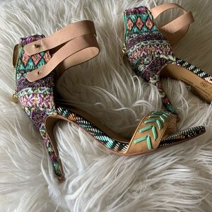Chinese Laundry Multi Color High Heels